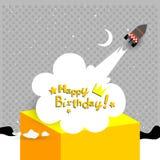 Wszystkiego najlepszego z okazji urodzin karta Fotografia Royalty Free