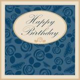 Wszystkiego Najlepszego Z Okazji Urodzin kartka z pozdrowieniami Na tle również zwrócić corel ilustracji wektora ilustracji