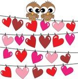 Wszystkiego najlepszego z okazji urodzin lub valentines dzień ilustracja wektor