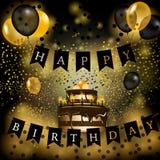 Wszystkiego Najlepszego Z Okazji Urodzin wektoru ilustracja Obrazy Stock