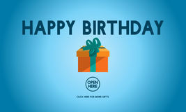 Wszystkiego Najlepszego Z Okazji Urodzin wydarzenia okazi rocznicy pojęcie Obraz Stock