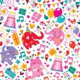 Wszystkiego Najlepszego Z Okazji Urodzin wzór ilustracji