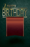 Wszystkiego najlepszego z okazji urodzin złota tekst Obraz Royalty Free