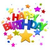 Wszystkiego Najlepszego Z Okazji Urodzin zabawa Fotografia Royalty Free