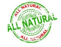 wszystko naturalne royalty ilustracja