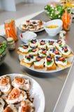 Wszystko ty możesz jeść śniadanio-lunch Zdjęcie Stock