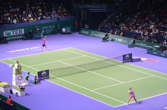WTA Istanboel Royalty-vrije Stock Foto