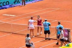 WTA Mutua Otwarty Madryt Zdjęcia Stock