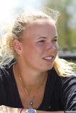 WTA: Tazza del cerchio di famiglia del 4 aprile Fotografie Stock Libere da Diritti
