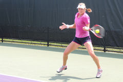 WTA-Tennis Professionele Ekaterina Makarova van Rusland royalty-vrije stock foto