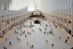WTC运输插孔的内部 免版税库存照片