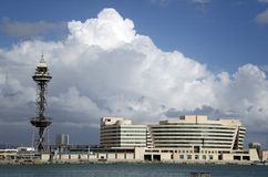 WTC Барселона Стоковые Фотографии RF