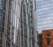 WTC Amsterdão Imagens de Stock Royalty Free