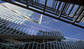 WTC Amsterdam. The famous and modern WTC Amsterdam Stock Photos