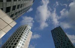 WTC Amsterdam Royalty Free Stock Photography