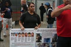 WTC demonstratie 2007 Stock Afbeelding