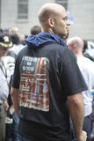 WTC demonstration 2007 Royalty Free Stock Photo