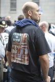 WTC Demonstration 2007 Lizenzfreies Stockfoto