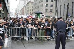 WTC Demonstration 2007 Lizenzfreie Stockbilder