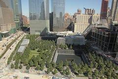 WTC, Freedom Tower y distrito financiero, NYC Fotografía de archivo libre de regalías
