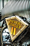 WTC inspirou a motocicleta Imagem de Stock
