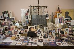 WTC Memorial Royalty Free Stock Photo
