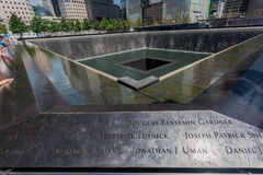 WTC Memorial New York City Stock Image