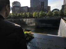 Wtc memorial stock photo