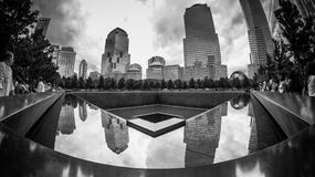 WTC Memorial Pool Stock Photos