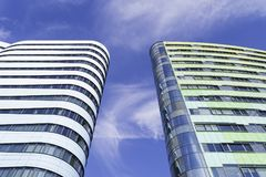 WTC-Mitte in den Niederlanden Stockfotografie