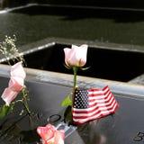 WTC NYC爆心投影 免版税图库摄影