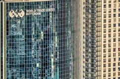WTC och bostads- torn Arkivbilder