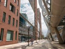 WTC Prinsenhof i Beatrix District i Haag Arkivbild