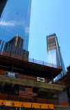 WTC tower 4 construction site Stock Image