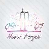 WTC-Typografie Lizenzfreie Stockfotos