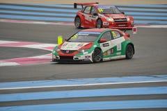 WTCC 2014 Γαλλία στοκ φωτογραφία με δικαίωμα ελεύθερης χρήσης