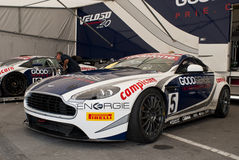 WTCC 2011 Paddock aston martin Porto Portugal Royalty Free Stock Photo