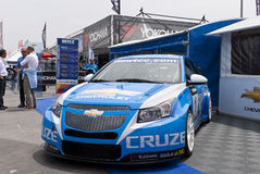 WTCC 2011 Paddock Chevrolet Cruze Porto Portugal Stock Photography