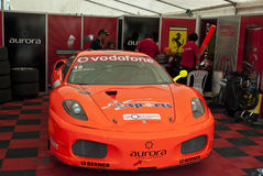 WTCC 2011 Paddock ferrari Porto Portugal Royalty Free Stock Photography