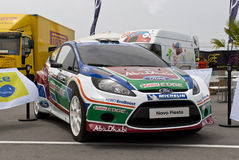 WTCC 2011 Paddock Ford Fiesta Porto Portugal Royalty Free Stock Images