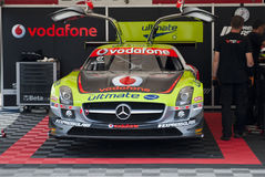 WTCC 2011 Paddock Mercedes Porto Portugal Stock Photo