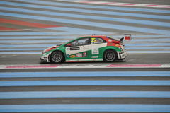 WTCC 2014 France. Paul Ricard Circuit royalty free stock image