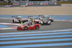 WTCC 2014 France. Paul Ricard Circuit royalty free stock photography