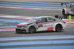 WTCC 2014 France. Paul Ricard Circuit stock photo