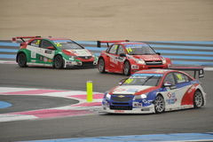 WTCC 2014 France. Paul Ricard Circuit stock photography