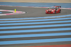 WTCC 2014. France Paul Ricard Circuit royalty free stock images