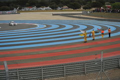 WTCC 2014 France. Paul Ricard Circuit royalty free stock images