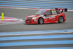 WTCC Francia 2014 fotografia stock
