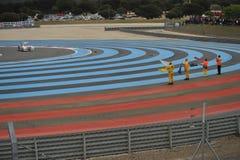 WTCC Francia 2014 immagini stock libere da diritti