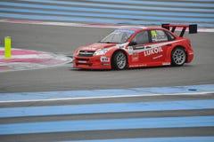 WTCC 2014 Francja Fotografia Stock
